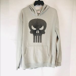 The Punisher Marvel Mens Large